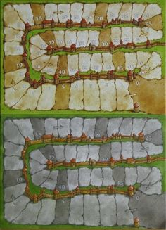 Other Carcassonne boards.