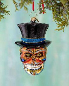 H8C9U Christopher Radko Mr. Dead Christmas Ornament