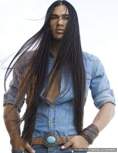 Native American. Martin Sensmeier. OMG... uh..I will just say it, This man is fine!!!!!!!!!!!!!!!                                                                                                                                                      More