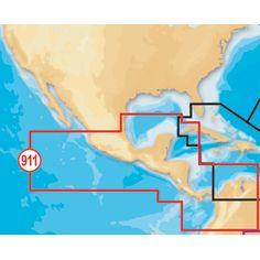 Navionics Platinum+ Mexico/Central America on SD™/microSD™