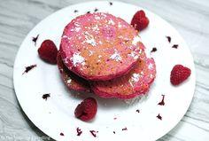 Naturally pink pancakes! #HealthyRecipesHungryKids
