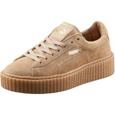 Puma PUMA BY RIHANNA MEN'S CREEPER ($140) ❤ liked on Polyvore featuring men's fashion, men's shoes, men's sneakers, shoes, sneakers, puma, trainers, mens punk shoes, puma mens shoes and mens creeper shoes