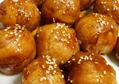 Roly-poly chicken wrap onigiri