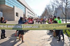 Here he comes!! Matias Anguita finishes his 40th marathon in 40 days in support of Reforest Patagonia. What an amazing feat!!   [www.reforestpatagonia.com]