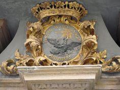 Platen Wappen, Familie Graf von Platen, Geburtshaus, doors, sign, gates, gate,iron
