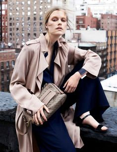 visual optimism; fashion editorials, shows, campaigns & more!: stina rapp wastenson by victor demarchelier for vogue spain february 2014