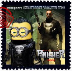 Brutal, Cool & Wear Black Minions ~ The Punisher