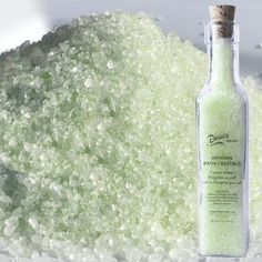 Dausy Artisan White Jasmine Bath Crystals by Dausy Artisan. $12.00. Hand blended to soften your bath water and surround you with fragrance.. NET WT 11 OZ / 325.3g - 2.75 x 2.75 x 10.5. Select crystalline Brazilian salt and sweet almond oil, scented with the warm, light fragrance of night-blooming jasmine.  Naturally colored a pale green.. Ingredients: Sodium Chloride (sea salt), fragrance, Prunus dulcis (almond) oil, natural colorants. To use crystals: Sprinkle a generous handfu...