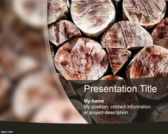 logs background #PowerPoint #templates free download