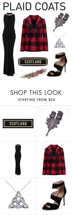 """""""Proud to be Scottish"""" by anna-cameron ❤ liked on Polyvore featuring Alexander McQueen, Line, Allurez and Carvela"""