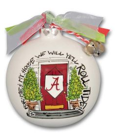 Look at this Alabama Crimson Tide 'My House' Holiday Ornament on #zulily today!