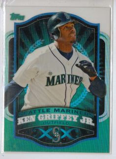 Ken Griffey Jr. Mlb Mariners Sox Reds Refractor card