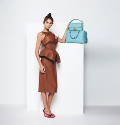 Explore the new Fendi Women's Spring/Summer 2019 Advertising Campaign shot by Karl Lagerfeld, featuring models Kaia Gerber, Adut Akech and Anok Yai. Kaia Gerber, Karl Lagerfeld Fendi, Beautiful Stairs, Model Photographers, Italian Fashion, White Women, Fashion Photo, Women's Fashion, Two Piece Skirt Set