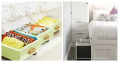 Quartos mais arrumados e organizados - todas as formas de ganhar espaço são uma mais valia