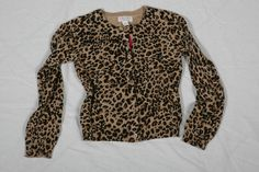 Leopard-print Cardigan - @ Children's Place WISH I COULD WWEAR THIS LOL