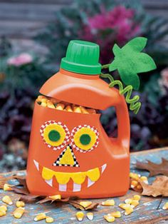 Great way to recycle that Tide bottle!