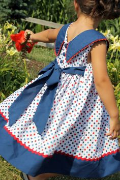 Ellie Inspired » Classic Children's Clothing Patterns. I use to have a dress just like this that my mom made for me at Easter .....56 years ago!