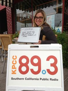 #DearMayor Live from Eagle Rock: What should the next mayor do first?   Represent!   89.3 KPCC