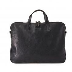 Shop Gaudi Calvert Leather folio bag in black. Ally Capellino leather briefcases for men. Made using Italian vegetable tanned leather. Briefcase For Men, Leather Briefcase, Leather Bag, Vegetable Tanned Leather, Italian Leather, Bag Accessories, Gaudi, Bags, Shoes