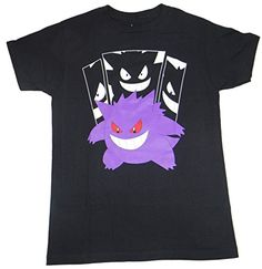 d44ea572a7 Pokemon Gengar In The Shadows T-shirt (Small
