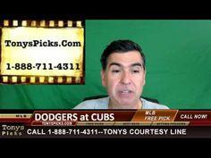 LA Dodgers vs. Chicago Cubs Pick Prediction Game 2 MLB Playoff Baseball ...