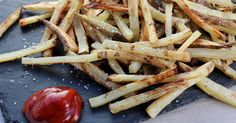 Crispy Baked French Fries! The key to oven crispy french fries are these 3 important (but easy!) tips. Make the perfect french fries at home!