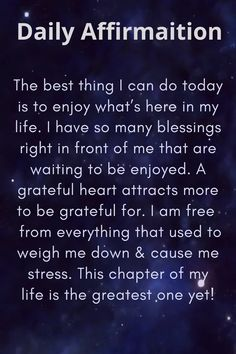 Daily Positive Affirmations, Positive Affirmations Quotes, Affirmation Quotes, Prayer Quotes, Wisdom Quotes, Words Quotes, Positive Quotes, Love Quotes, Motivational Quotes