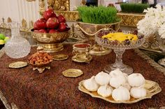 US White House Haft Sin Table, 2008. Traditionally used by Persians on Naw Ruz (New Year)