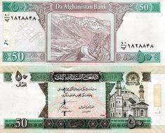 P-63 Asian banknotes UNC Afghanistan 10,000 Afghanis 1993
