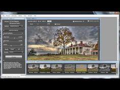 HDR photography tutorial Canon 60d  Photomatix image processing