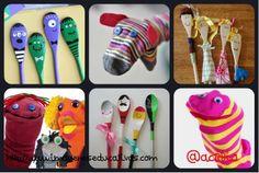 Las marionetas y los títeres, te atreves a fabricarlos y utilizarlos en tú clase. Te explicamos cómo hacerlo.