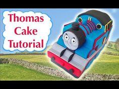 Thomas Train Birthday Cake HOW TO COOK THAT Ann Reardon