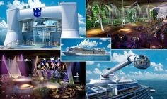 Royal Caribbean unveils virtual tour of 'world's most futuristic ship' #cruise #tech #travel