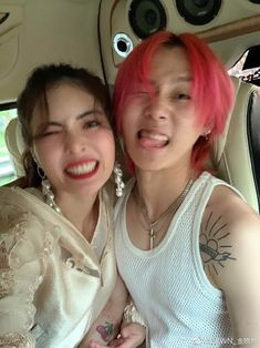 Hyuna and Dawn