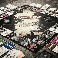 Game of Thrones Monopoly from Firebox.com