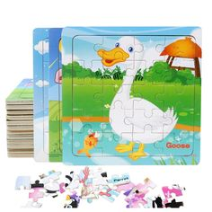 Brand Name: Diikamiiok Material: Wood Age Range: < 3 years Years Warning: Prohibit swallowing Gender: Unisex Model Number: Style: Animal Puzzle Style: Puzzle Jigsaw Puzzles For Kids, Wooden Jigsaw Puzzles, 3d Puzzles, Baby Toys, Animal Puzzle, Novelty Toys, Puzzle Toys, Building Toys, Educational Toys