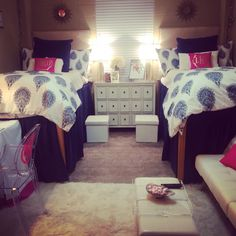 Martin dorm room at Ole Miss