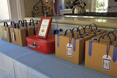 DIY Medium size kraft boxes mini suitcases!   Funky Box Studio