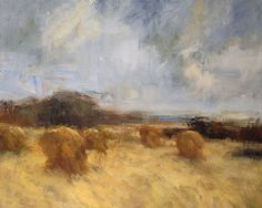 "Harvest by Simon Addyman Mixed Media ~ 48"" x 60"""