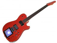Manson Signature Guitars MB-1 Red Glitter, £3599.00  I want one!