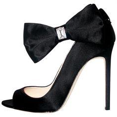 Max Kibardin very feminin Big Bow Open-Toe Pumps with Stiletto Heels #Shoes
