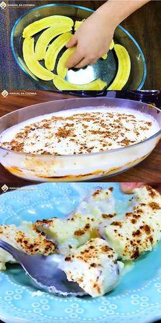 DELICIA DE BANANA NA TRAVESSA #deliciadebanana #banana #delicianatravessa #sobremesanatravessa #sobremesas #cozinha #receita #receitafacil #receitas #comida #food #manualdacozinha #aguanaboca #alexgranig