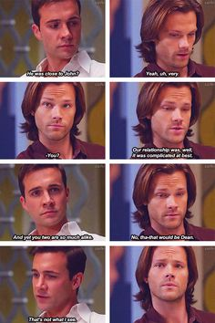 "(gif set) Deleted scene from Supernatural 8x12 ""As Time Goes By"" LOVE."