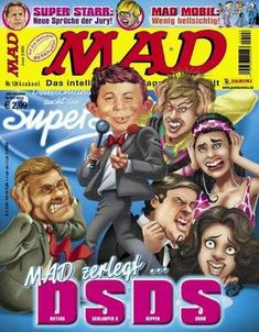 MAD #126 - MAD Zerlegt DSDS!
