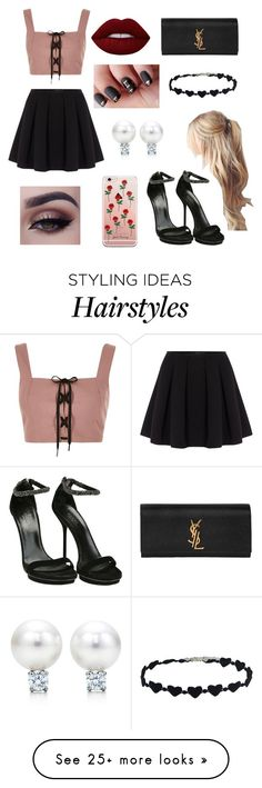"""Yeeeeee"" by fandoms-and-good-music on Polyvore featuring River Island, Polo Ralph Lauren, Gucci, Yves Saint Laurent and Lime Crime"