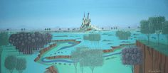 disney concepts & stuff Visual Development from Sleeping Beauty by Eyvind Earle
