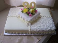 90Th Birthday  on Cake Central