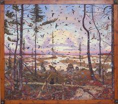 Tom Uttech. Chasen Museum of Art, Madison, WI