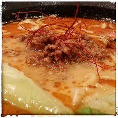 Si te gusta el picante el tantanmen de #Ramenkagura es tu ramen @acibecheria