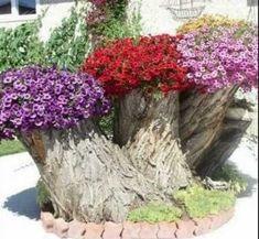 Tree Stump For Garden Art_16